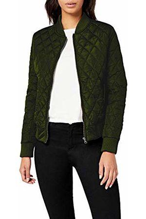 Urban classics Women's Ladies Diamond Quilt Nylon Jacket