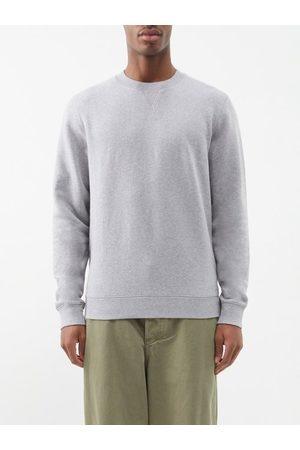 Sunspel Crew-neck Cotton-jersey Sweatshirt - Mens
