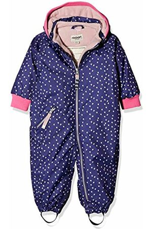 Racoon Baby Girls' Bibi Heart Schneeanzug (Wassersäule 9.000) Snowsuit