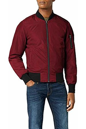 Urban classics Men's 2-Tone Bomber Jacket