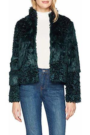 Cream & Co. Cream Women's Cassie Fur Jacket Bomber (Fall 61284)