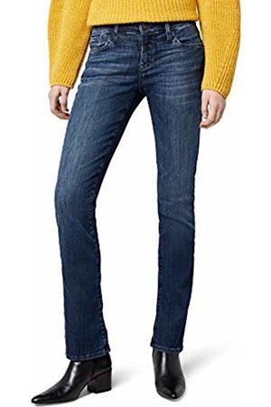 Mavi Women's Mona Straight Jeans Blau (Dark Indigo Memory 23755)- W26/L32