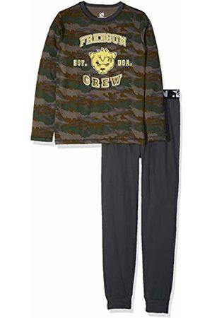 Freegun Boy's EG.FGARM.PYA.MZ Pyjama Sets, Gris