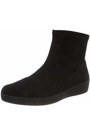 FitFlop Women Ankle Boots - Women's OTTIE Sock Faux-Suede Ankle Boots, ( 001)