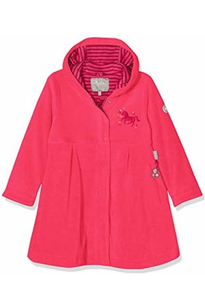sigikid Girl's Fleece Mantel, Mini Coat, (Rot (Raspberry Sorbet 678)