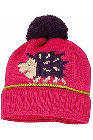 maximo Girl's Mütze Igel mit Pompon Hat, (Sexy 25)