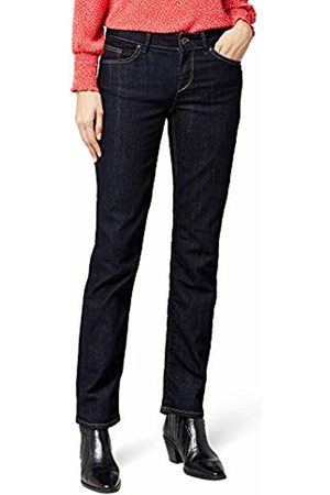 Cross Jeans Women's Straight Fit Jeans - - Blau (Rinsed) - 29/30 (Brand size: 29/30)