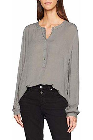 Kaffe Women's Karla Amber Shirt LS (Smoked Pearl 50022)