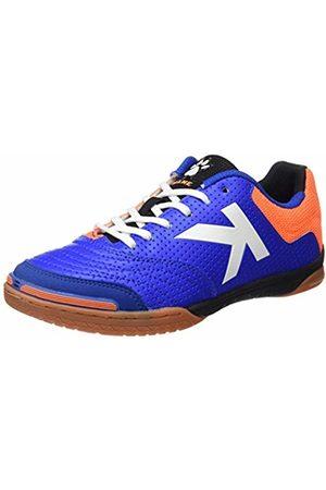 kelme Men's Intense 3.0 Futsal Shoes, Royal/Naranja