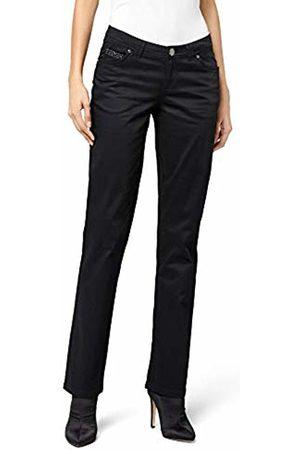 Morgan Women's 142-Pacino.N Straight Trousers Trousers