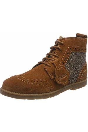 Kickers Boys' Orin Brogue Classic Boots, (Rich RCH Tan)