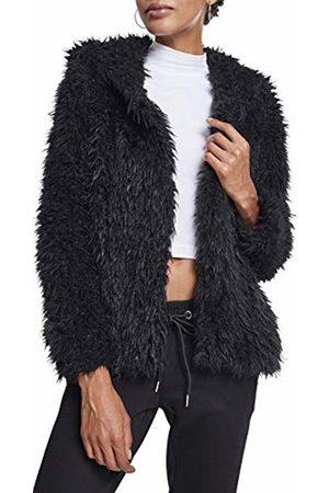 Urban classics Women's Ladies Hooded Teddy Jacket ( 00007)