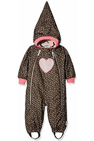 Racoon Baby Girls' Beatrice Heart Schneeanzug (Wassersäule 9.000) Snowsuit