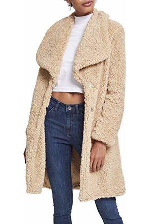 Urban classics Women's Ladies Soft Sherpa Coat