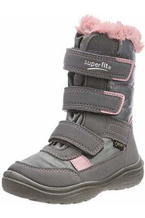 Superfit Girls' Crystal Snow Boots, (Hellgrau/rosa 25)