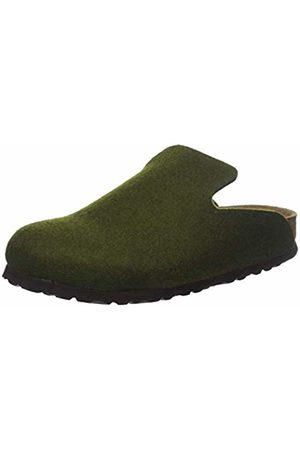 Birkenstock Unisex Adults' Davos Open Back Slippers, Olive