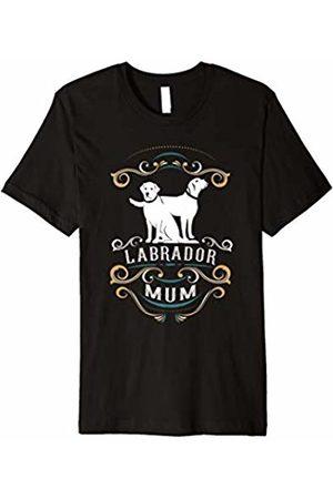 NickerStickers Labrador Mum | Labrador Retriever NS18 Dog Mum T-Shirt