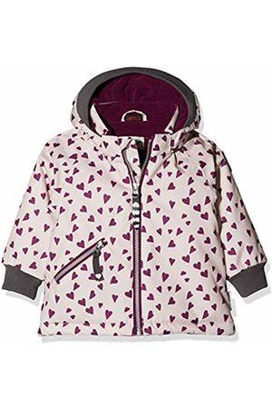 Racoon Baby Girls' Beate Heart Winterjacke (Wassersäule 9.000) Jacket