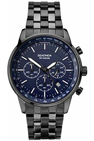 Sekonda Mens Chronograph Quartz Watch with Stainless Steel Strap 1376.27