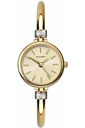 Sekonda Womens Analogue Classic Quartz Watch with Plated Strap 2551.27