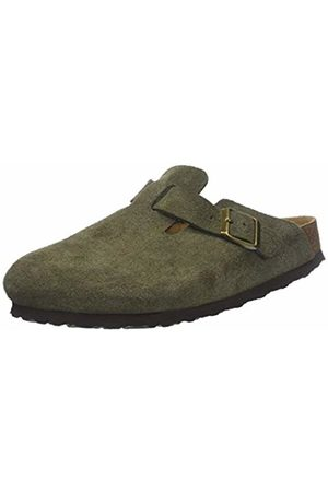 Birkenstock Women's Boston SFB Clogs, Vert Forest