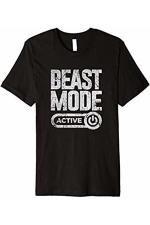 Bodybuilding Gym Clothing Workout Beast Shirt - Activated Gym Mode Fitness Cross Train