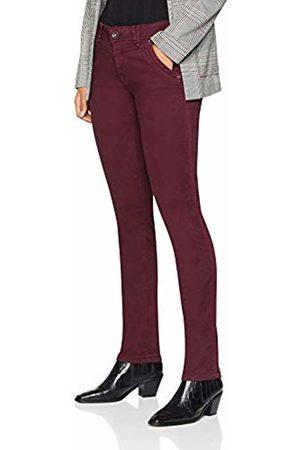 Timezone Women's Slim NaliTZ Trousers, (Merlot 5050)