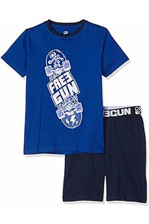 Freegun Boy's EG.FGSKA.PSH.MZ Pyjama Sets, Bleu