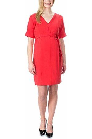 bellybutton Women's Pauline-Kleid 1/2 Arm Dress, -Rot (Tomato 2052)