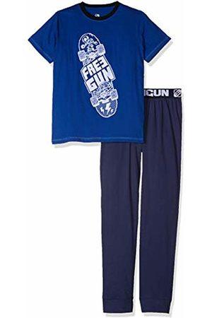 Freegun Boy's EG.FGSKA.PY.MZ Pyjama Sets, Bleu
