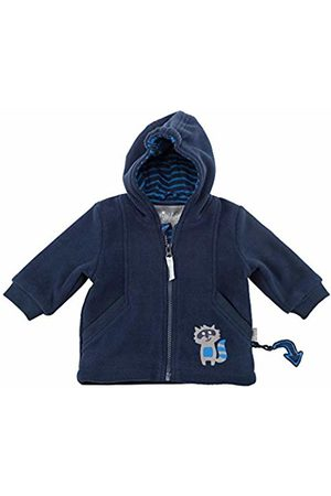 sigikid Boys' Fleece Jacke, Baby Jacket, (Blau (Mood Indigo 275)