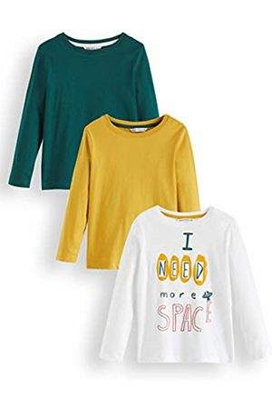 RED WAGON Boy's Space Multipack Long Sleeve Top, 140 (Size: 10)