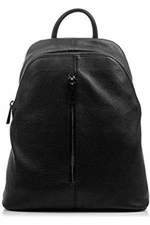 Firenze Artegiani . Backpack Women Casual Genuine Leather Backpack Bag Genuine Leather Dollaro.Front Pocket. Laptop Backpack Bag Women. Made in Italy. Vera Pelle Italiana. 30x35x14 cm.