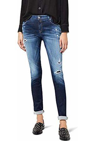 Replay Women's Katewin Hyperflex Slim Jeans, (Mid Denim 9)
