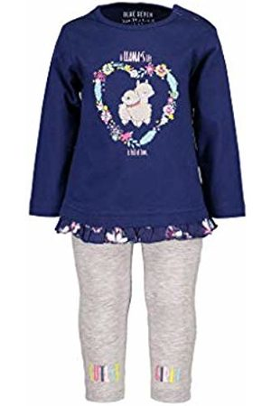 Blue Seven Baby Girls' Vd-966512 X Clothing Set, (Ultramarine Orig 564)