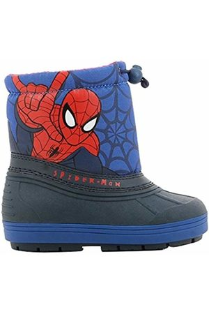 SPIDERMAN Boys Kids Booties Snowboot Snow Boots
