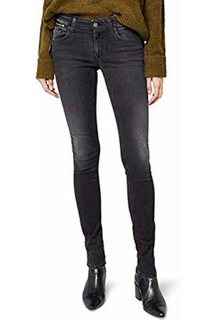 Replay Women's LUZ Coin Zip Jeans, ( Denim 9)