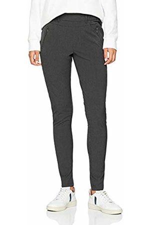 Kaffe Women's Jillian Vilja Pants Trousers, (Dark Melange 50016)