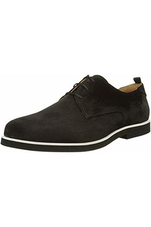 Paul & Joe Men's Minimal Derbys, (CROUTE Velours Noir)