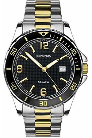 Sekonda Mens Analogue Classic Quartz Watch with Stainless Steel Strap 1581.27