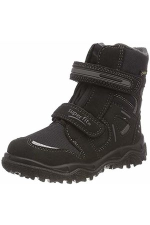 Superfit Boys' Husky Snow Boots, (Schwarz/grau 06)