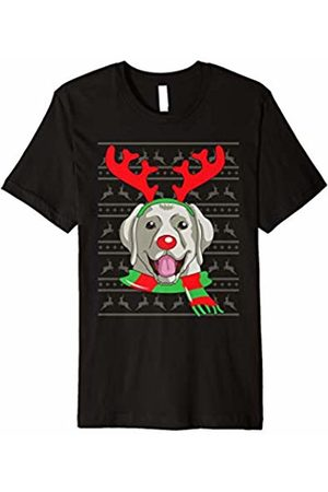 Reindeer Dogs Apparel by Blink Imprints Labrador Retriever T-Shirt Dog Reindeer Christmas Gift Tee