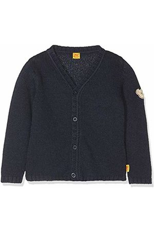 Steiff Baby Boys' Strickjacke 1/1 Arm Cardigan, (Marine|