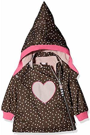 Racoon Baby Girls' Barbro Heart Winterjacke (Wassersäule 9.000) Jacket