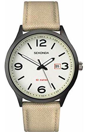 Sekonda Watches Mens Analogue Classic Quartz Nylon Strap 1508.27