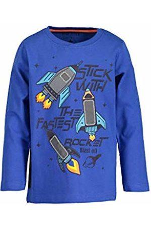 Blue Seven Boy's Vd-850572 X Kniited Tank Top, (Ocean 533)