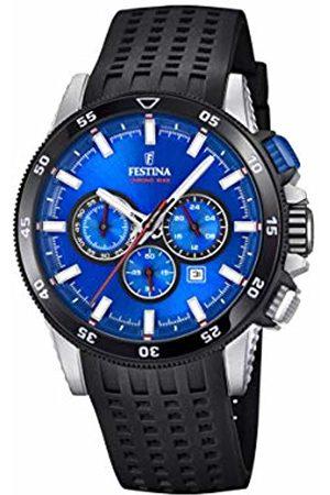 Festina Men Watches - Mens Chronograph Quartz Watch with Silicone Strap F20353/2