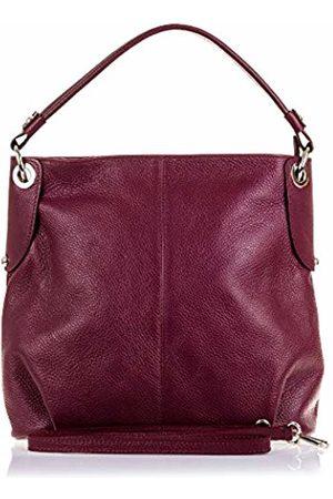 Firenze Artegiani Women's Genuine Leather Dollaro Finish Shoulder Bag