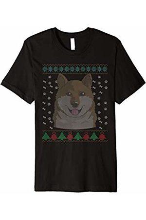f0a903a56f235 Shiba Inu T-Shirt Ugly Dog Christmas Gift Shirt