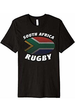 South African Rugby Tees South African Rugby T Shirt Springbok South Africa Flag